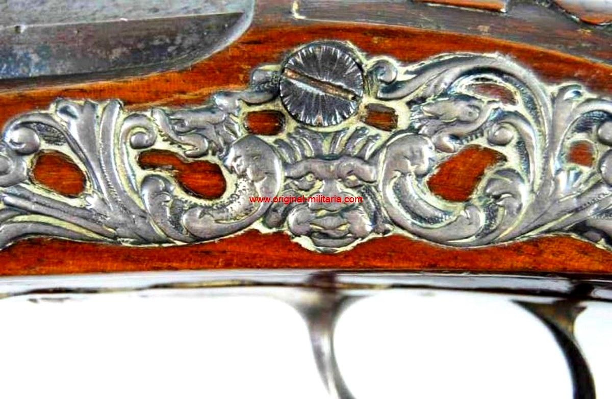 "Pistola Española de ""Juan Belén"" Arcabucero Real circa 1683"